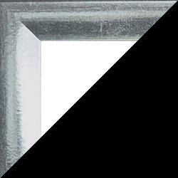 Individueller Bilderrahmen Modell Pisa Silberglanz Vintage