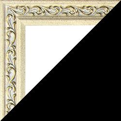 Individueller Bilderrahmen Modell Venedig Farbe Beige Gold