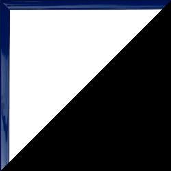 Individueller Bilderrahmen mit Klemmleiste Schnappy in Blau