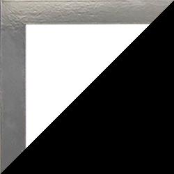 Individueller Bilderrahmen Modell Monaco Farbe Edelstahl