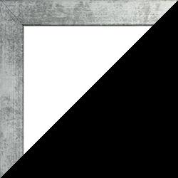 Individueller Bilderrahmen Modell Monaco Farbe Eisen Gewischt