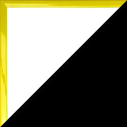 Individueller Bilderrahmen mit Klemmleiste Schnappy in Gelb