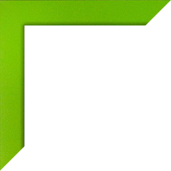 Individueller Bilderrahmen Modell Monaco Farbe Hellgrün