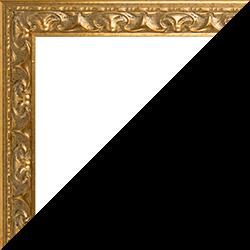 Individueller Bilderrahmen Modell Mallorca Farbe Gold