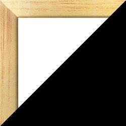 Individueller Bilderrahmen Modell Monaco Farbe Goldglanz