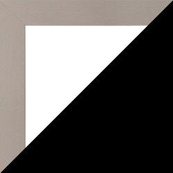 Individueller Bilderrahmen Modell Monaco Farbe Hellgrau