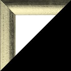Individueller MDF Bilderrahmen Sonderformat Modell Palma Metallglanz