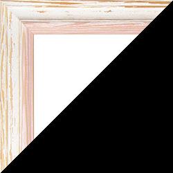 Individueller Bilderrahmen Modell Amalfi in der Farbe Beige Vintage Rosé