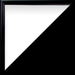 Individueller Bilderrahmen mit Klemmleiste Schnappy in Schwarz