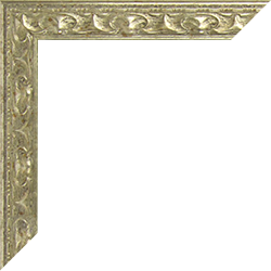 Individueller Bilderrahmen Modell Mallorca Farbe Silber