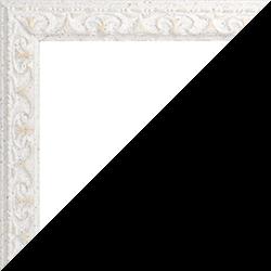 Individueller Bilderrahmen Modell Mallorca Farbe Weiß Beige