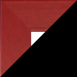 Massivholz Foto-Rahmen Stralsund Sonderformat Rot Echtholz