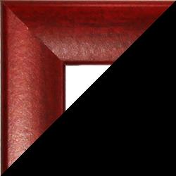 Individueller Bilderrahmen Sonderformat Modell Pisa Weinrot gewischt