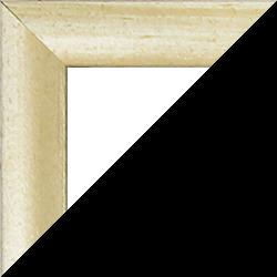 Individueller MDF Bilderrahmen Sonderformat Modell Palma Sand gewischt