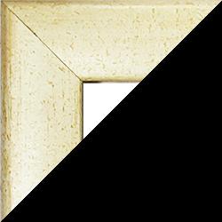 Individueller Bilderrahmen Sonderformat Modell Pisa Sand gewischt