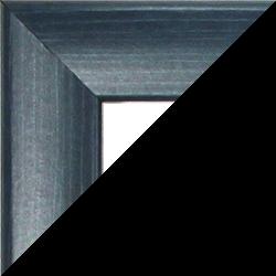 Individueller Bilderrahmen Sonderformat Modell Pisa Schieferblau