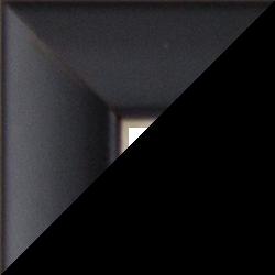 Individueller Bilderrahmen Modell Orlando Farbe Schwarz Matt