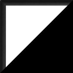 Aluminium Foto-Rahmen Hamilton Sonderformat Schwarz matt