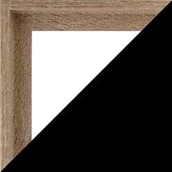 Individueller Bilderrahmen Modell Lyon Farbe Sonoma Eiche