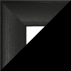 Individueller Bilderrahmen Sonderformat Modell Pisa Schwarz gemasert