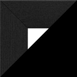 Individueller Billderrahmen Modell Oslo Farbe Schwarz gemasert nach Maß im Onlineshop bestellen