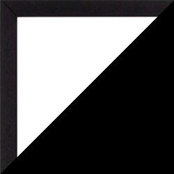 Individueller Bilderrahmen Modell Talon Farbe Schwarz Gemasert