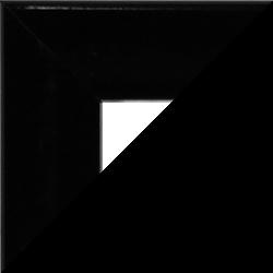 Individueller Bilderrahmen Sonderformat Modell Pisa Schwarz hochglanz