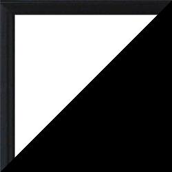 Individueller Bilderrahmen Modell Kingston Farbe Schwarz Hochglanz