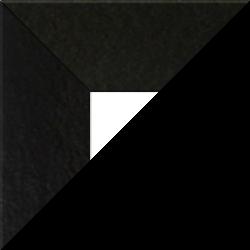 Individueller Billderrahmen Modell Oslo Farbe Hochglanz Schwarz nach Maß im Onlineshop bestellen