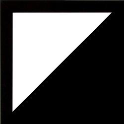 Individueller Bilderrahmen Modell Talon Farbe Schwarz Hochglanz