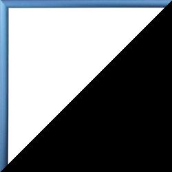 Individueller Bilderrahmen Modell Ottawa Farbe Stahl Blau