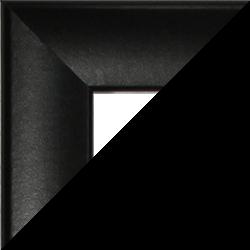 Individueller Bilderrahmen Sonderformat Modell Pisa Schwarz matt