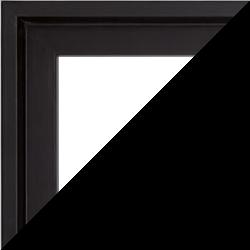 Individueller Bilderrahmen Modell Lyon Farbe Schwarz