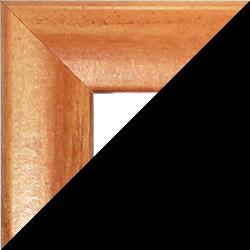 Individueller MDF Bilderrahmen Sonderformat Modell Pisa Terracotta