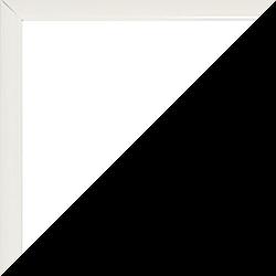 Aluminium Foto-Rahmen Hamilton Sonderformat Weiß