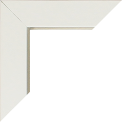 Aluminium Foto-Rahmen Victoria Sonderformate Weiß
