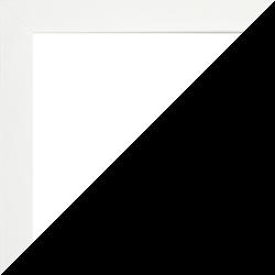 Massivholz Foto-Rahmen Stralsund Sonderformat Weiß