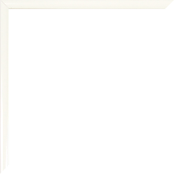 Individueller Bilderrahmen Sonderformat Modell Weiß