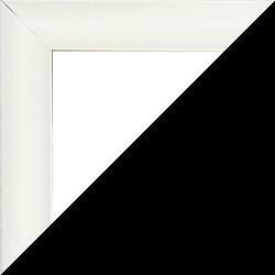 Individueller Bilderrahmen Modell Biggy Farbe Weiß