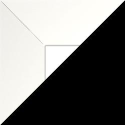 Individueller Billderrahmen Modell Oslo Farbe Hochglanz Weiß nach Maß im Onlineshop bestellen