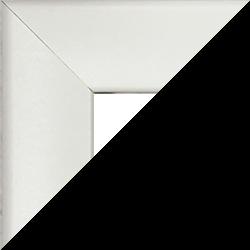 MDF Bilderrahmen Pisa Sonderformat Weiss matt