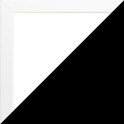Individueller Bilderrahmen Modell Talon Farbe Weiß Matt