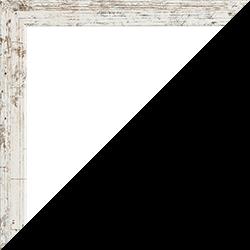 Individueller Bilderrahmen Modell Malena Weiß Vintage
