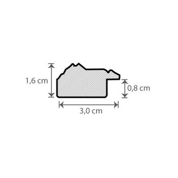 Individueller Bilderrahmen Sondermaße Modell Dover