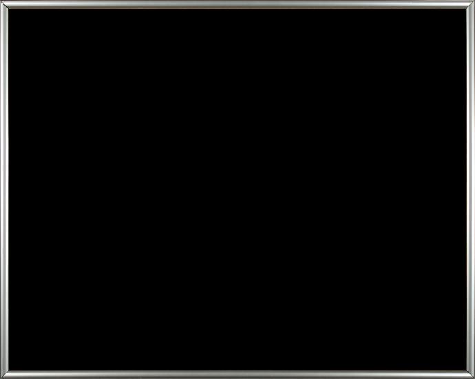 Individueller Bilderrahmen Sonderformat Modell Easy, Farbe Silber