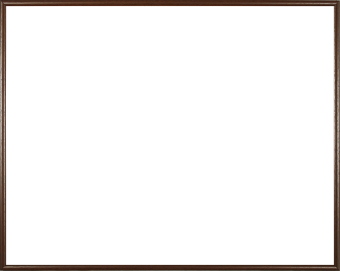 Individueller Bilderrahmen Sonderformat Modell Dunkelbraun