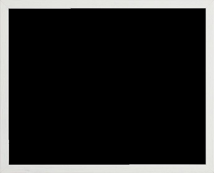 Individueller Bilderrahmen Modell Malena Farbe Birke Weiß