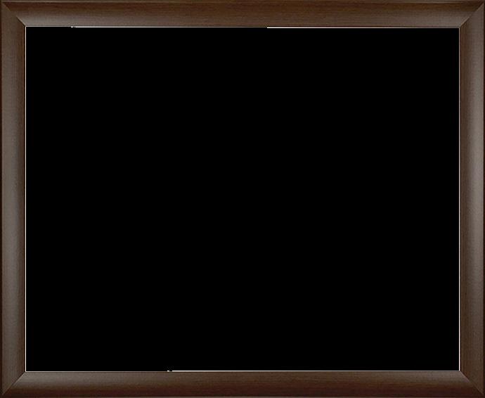 Individueller MDF Bilderrahmen Modell Pisa Eiche Dunkel Dekor