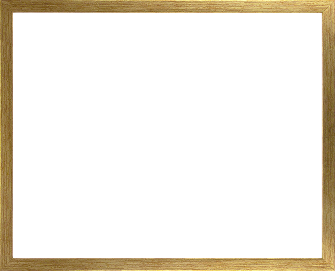 Individueller Bilderrahmen Modell Talon Farbe Gold Antik