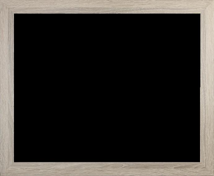 Individueller Billderrahmen Modell Oslo Farbe Raucheiche nach Maß im Onlineshop bestellen